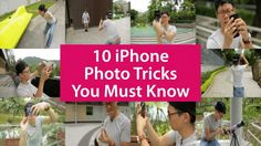 You love your iPhone, that's for sure. What about loving it more with these 10 trickson taking great photos. The tricks are simple yet theresults you get are simply going to blow your imagination...
