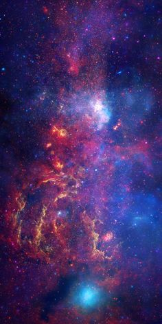"""""""Our Milky Way - The Galactic Center This Hubble image show's a region of the Milky Way's galactic center. The brightest regions of the Galactic center can be found in the..."""