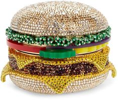 -- Judith Leiber Cheeseburger Crystal Embellished Clutch -- only always Fall Wardrobe Essentials, Uncommon Gifts, Vanity Bag, Nordstrom Gifts, Next Clothes, Purse Styles, Judith Leiber, Colourful Outfits, Fashion Bags