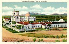Arizona 1940's postcard. Hagins collection.