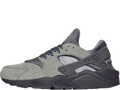Nike Air Huarache heren sneaker. Grijs. Laag model.