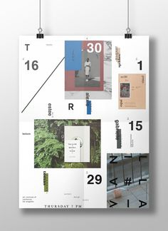 Lecture Poster Series on Behance