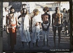 Exhibition: 'The World c. Colour Photography Before the Great War' at Martin-Gropius-Bau Berlin Old Pictures, Old Photos, Vintage Photographs, Vintage Photos, Gropius Bau, Albert Kahn, Subtractive Color, Bombay, Photo Vintage