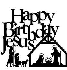 Happy Birthday Jesus Christmas Holidays Crafts Nativity