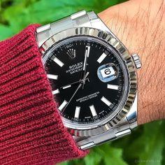 Sleek and Fresh Rolex Datejust II Black Dial $6750
