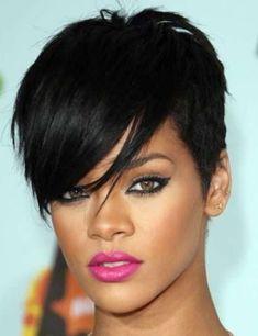 Rihanna Hairstyles: Trendy Pixie