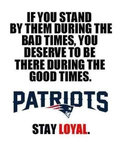 Win, lose or tie Patriots fan til I die.... I bleed absolute BLUE