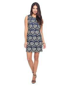 GRAPHIC GUIPURE SHIFT DRESS - Juicy Couture