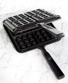 Nordic Ware Original Stovetop Belgian Waffle Maker - Bakeware - Kitchen - Macy's Bridal and Wedding Registry