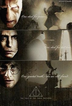 THE THREE BROTHERS - awesome piece discovered by a dear friend and fellow HP nerd:)