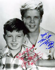 Jerry Mathers, Tony Dow, Leave It To Beaver, The Andy Griffith Show, It Takes Two, Old Shows, Those Were The Days, Young Actors, Vintage Tv