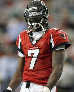 Mike Vick as a Falcon, he is still a good football player