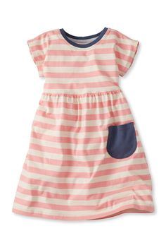 Spirited Stripe Dress | Girls Camp Beagle by Hanna Andersson