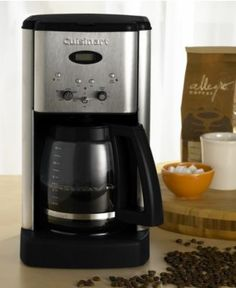 Cuisinart DCC-1200 Coffee Maker, Brew Central 12-Cup - Coffee Makers - Kitchen - Macy's Bridal and Wedding Registry