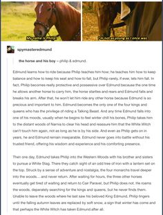 Philip and Edmund. Narnia. Don\'t mind me I\'m just crying over here.