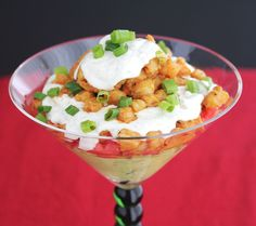 "<p>This layered dip, presented in a fun giant martini glass, has all the flavors of a shrimp taco.<strong style=""font-family: proxima-nova-n4, proxima-nova, 'Helvetica Neue', Helvetica, Arial, sans-serif;font-size: 14px;line-height: 18px""> </strong></p> <p><strong style=""font-family: proxima-nova-n4, proxima-nova, 'Helvetica Neue', Helvetica, Arial, sans-serif;font-size: 14px;line-height: 18px"">GET THE RECIPE HERE > <a…"