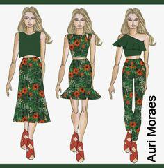 Auriele (desenhos de Moda)