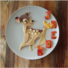 Mãe transforma as refeições do filho em personagens de desenho animado | Catraquinha