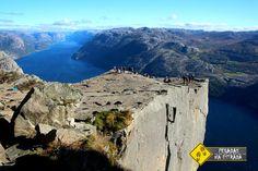 Pulpit Rock, Noruega. Foto: CFR / Blog Pegadas na Estrada