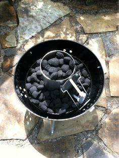 I purchased a Weber brand Charcoal Chimney Starter... works very well, and fast!