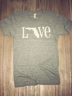 Classic State Love Tee- Florida Buy this for meeee!!!!