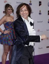 #GiannaNannini wearing #SaraNeri capsule collection 2013 on #LuxStyle!