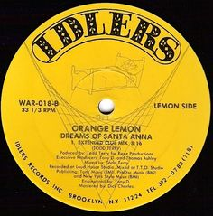 [1988] Orange Lemon - Dreams Of Santa Anna (Extended Club Mix) >> https://youtu.be/GPoGigCOX3Y