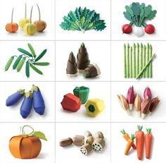 paper craft vegetable