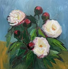 FineArtSeen - View Peonies by Lilia Orlova-Holmes. An original floral oil painting. Browse more art for sale at great prices. New art added daily. Buy original art direct from international artists. Shop now Oil Painting For Sale, Oil Painting On Canvas, Paintings For Sale, Original Paintings, Original Art, Bloom And Wild, Buy Peonies, Peony Painting, Abstract Styles