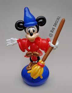 Balloon Art Fantasia Mickey