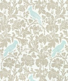 I was looking for that perfect fabric for new window treatments and i think i finally found it