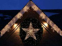 Decorazioni Luminose Natalizie Per Esterni : Fantastiche immagini su decorazioni natale