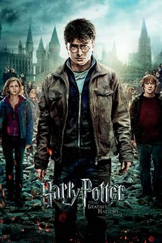 Buy Harry Potter Maxi Poster - Deadly Hallows 2 online and save! Harry Potter Maxi Poster – Deadly Hallows 2 This poster delivers a sharp, clean image and vibrant colours. This poster is printed on high quali. Harry Potter Parts, Harry Potter Movie Posters, Saga Harry Potter, Deathly Hallows Part 2, Harry Potter Deathly Hallows, Carrie Fisher, Harry Potter Wallpaper, 2 Movie, Movie Props