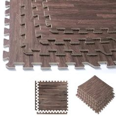 Interlocking Foam Wood Flooring - Funkthishouse : Funk This House