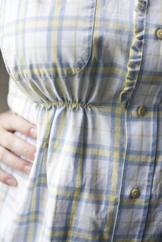 Upcycling: Men's button-down shirt