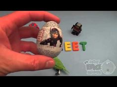 Big Hero 6 Surprise Egg Learn A Word! Spelling Birds! Lesson 7