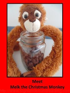 Melk the Christmas Monkey is a great way to teach children about God this holiday season.