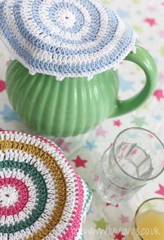 CROCHET PATTERN - FOOD COVERS free from LuluLoves