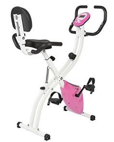 Best Choice Products Folding Adjustable Magnetic Upright Exercise Bike Fitness Upgraded Machine Pink * Visit the image link more details. Folding Exercise Bike, Best Exercise Bike, Upright Exercise Bike, Exercise Bike Reviews, Upright Bike, Bike Workouts, Cycling Equipment, Cycling Bikes, No Equipment Workout