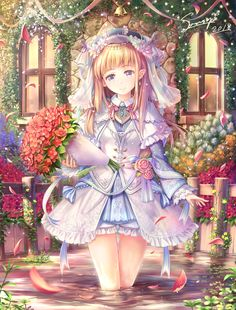 Image in 💠😍Anime😍💠 collection by 👑💕Carolina💕👑 Pretty Anime Girl, Beautiful Anime Girl, Kawaii Anime Girl, Anime Art Girl, Anime Girls, Cute Anime Character, Character Art, Anime Chibi, Manga Anime