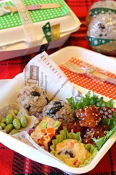 ヤンニョムチキンと作りおきおかずでオリエンタルピクニック弁当 - ぱおのおうちで世界ごはん☆