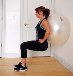 This full body Stability Ball Workout will work every major muscle group AND help to strengthen your core, improve your balance, and correct your posture.