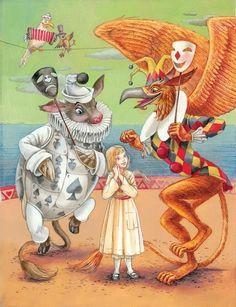 Alice in Wonderland by Lewis Carroll Illustration by Maxim Mitrofanov