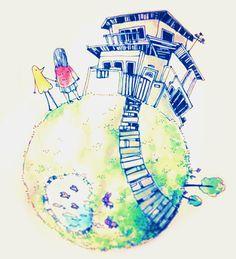 oyasumi punpun If dreams can't come true then why not pretend ? Bonne Nuit Punpun, Goodnight Punpun, Emotional Rollercoaster, Drawing Reference, Good Night, Puns, Amazing Art, Grunge, Digital Art