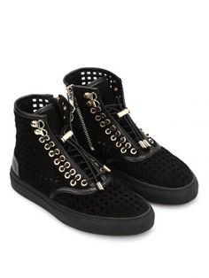 BALMAIN Balmain Sneakers Alte Traforate. #balmain #shoes #balmain-sneakers-alte-traforate