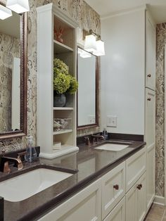 Bathroom Design, Pictures, Remodel, Decor and Ideas - page 29. Love vanity and top.