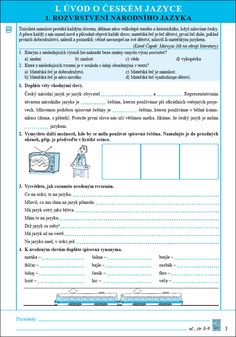 NOVÁ ŠKOLA, s.r.o. » český jazyk Education, Literatura, Onderwijs, Learning