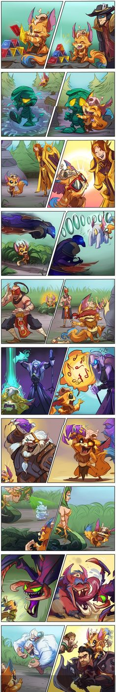 This is just way too cute! (Gnar league of legends)