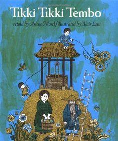 """Tikki Tikki Tembo. Oh my god. My girls LOVED this as children.  We'd run around the singing """"tiki tiki tembo, no sa rembo, perri perri buchi pip perri pembo.  Well....I think that's close anyways...many years ago. I'm a grandma now.❤️"""