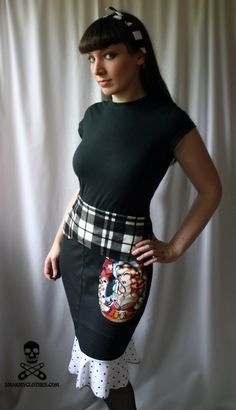 How to make a Pencil Skirt - Free DIY Sewing Tutorial